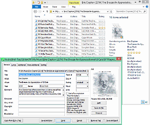 ID3 tag editor - AudioShell freeware music files tag editor - direct