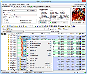 Mp3 tag editor Tag&Rename - edit tag in mp3, wma, mp4 files